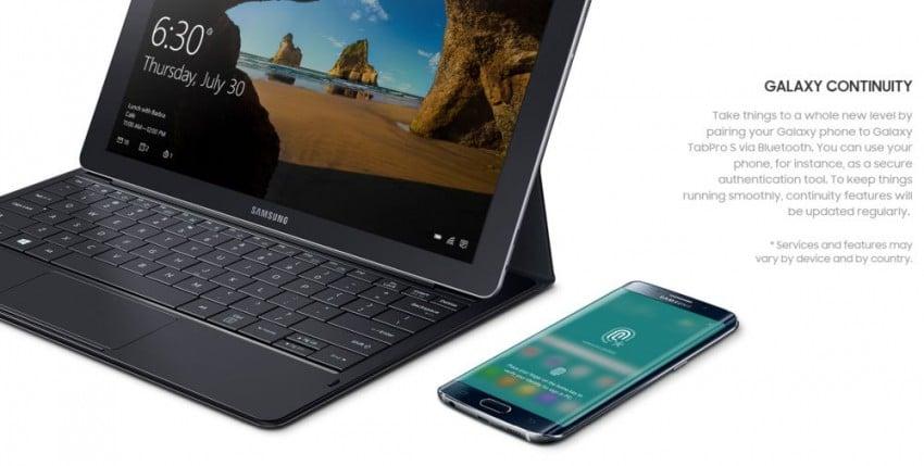 Tabletowo.pl Galaxy TabPro S - kolejne podejście Samsunga do tabletów z Windowsem, ale tym razem udane Hybrydy Samsung Tablety Windows