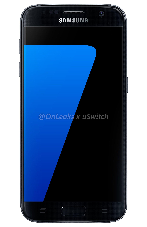 001 Samsung Galaxy S7 Black Czarny 01