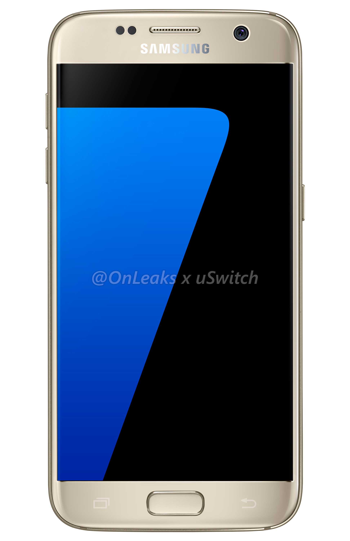 001 Samsung Galaxy S7 Gold Złoty 01