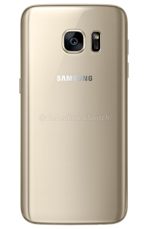 001 Samsung Galaxy S7 Gold Złoty 02