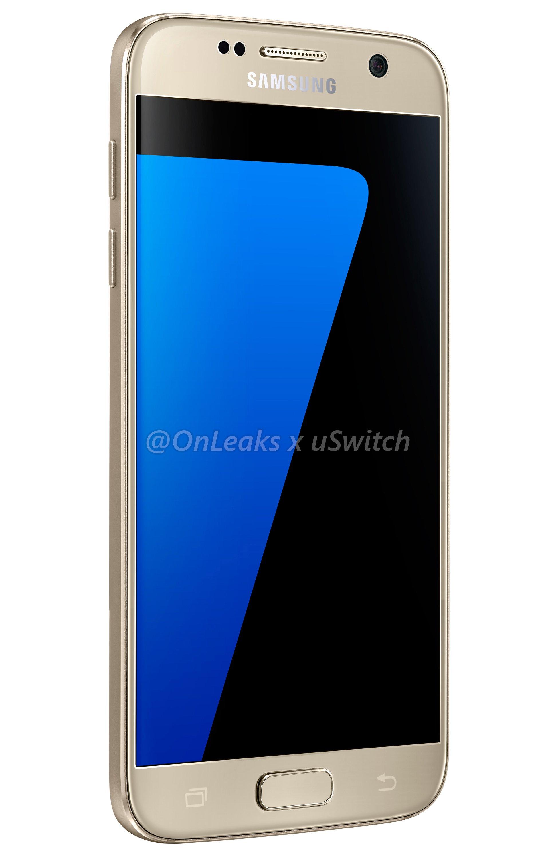 001 Samsung Galaxy S7 Gold Złoty 03