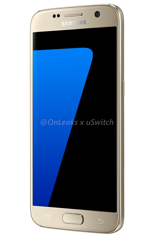 001 Samsung Galaxy S7 Gold Złoty 04
