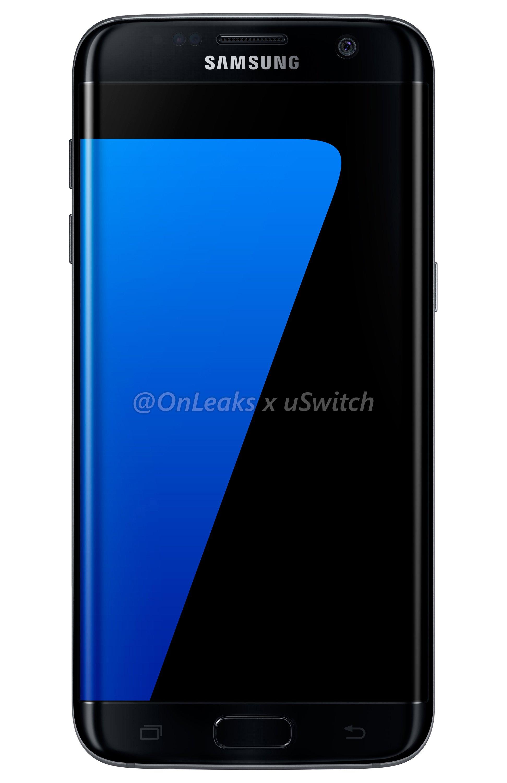 002 Samsung Galaxy S7 Edge Black Czarny 01