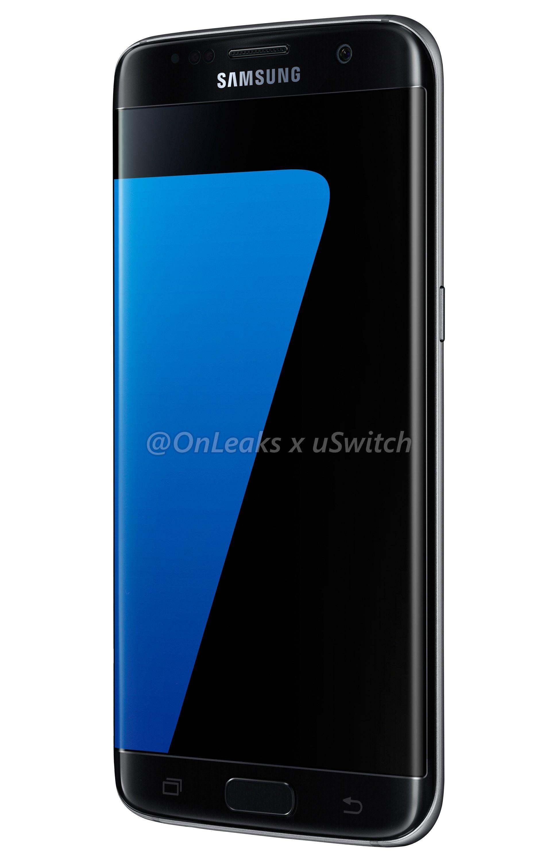 002 Samsung Galaxy S7 Edge Black Czarny 03