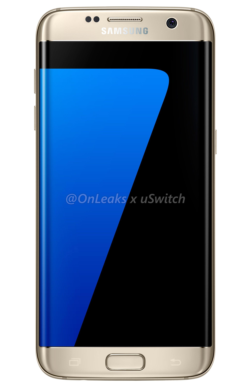 002 Samsung Galaxy S7 Edge Gold Złoty 01