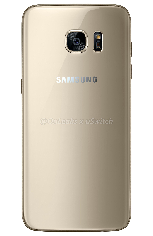 002 Samsung Galaxy S7 Edge Gold Złoty 02