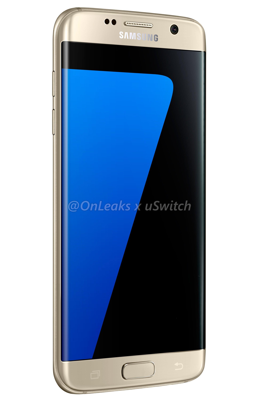 002 Samsung Galaxy S7 Edge Gold Złoty 04