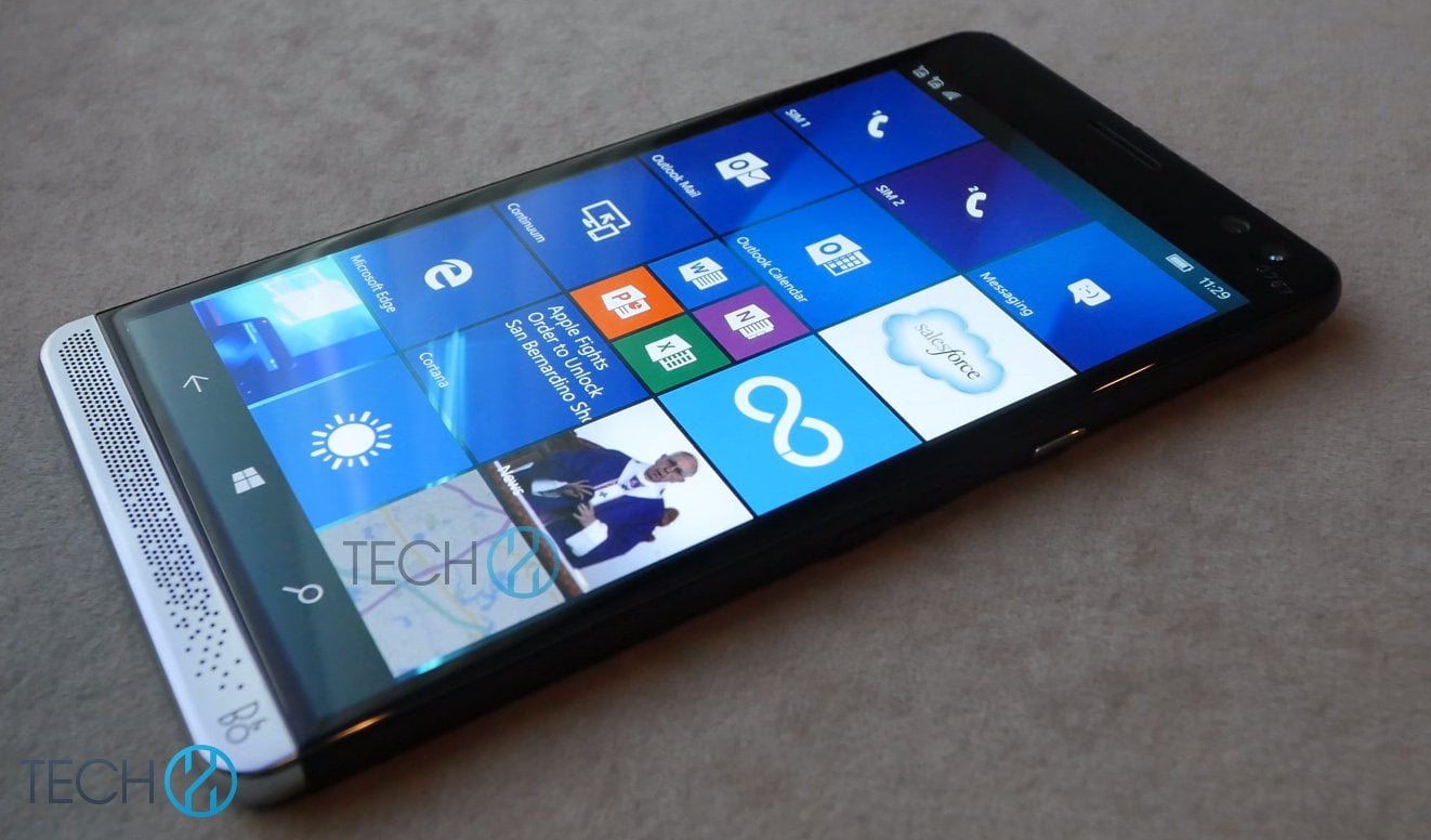 High-endowy HP Elite x3 z Windows 10 Mobile na zdjęciach 25
