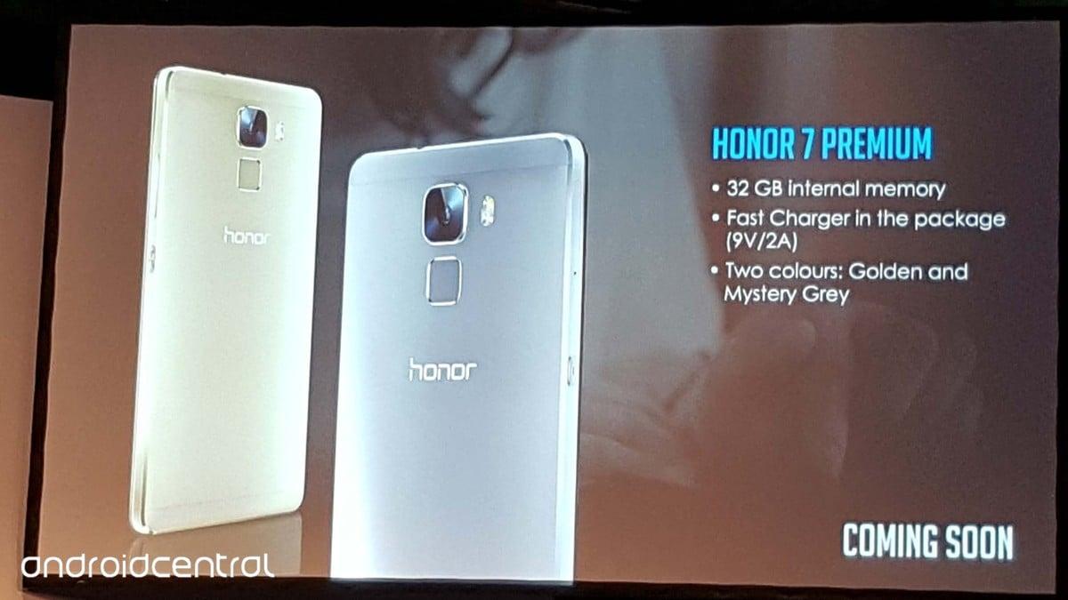 Tabletowo.pl Honor 7 w wersji Premium zmierza do Europy Android Huawei Smartfony