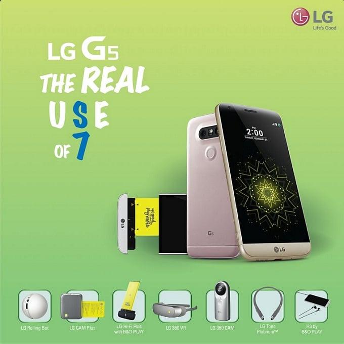 LG G5 Samsung Galaxy S7 Samsung Galaxy S7 Edge