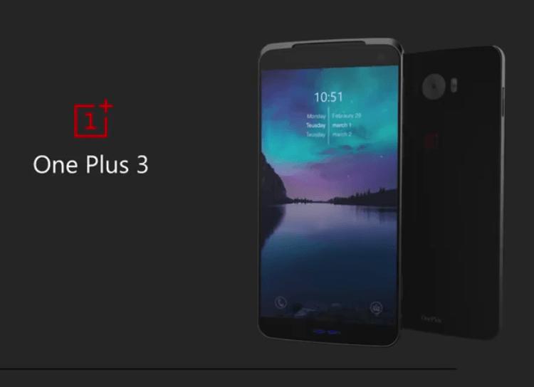 Tabletowo.pl OnePlus 3 na zdjęciach i filmie - pytanie tylko, która koncepcja jest prawdziwa Android OnePlus Plotki / Przecieki Smartfony