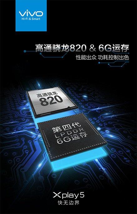 Vivo XPlay 5 będzie pierwszym smartfonem z 6GB pamięci RAM 20