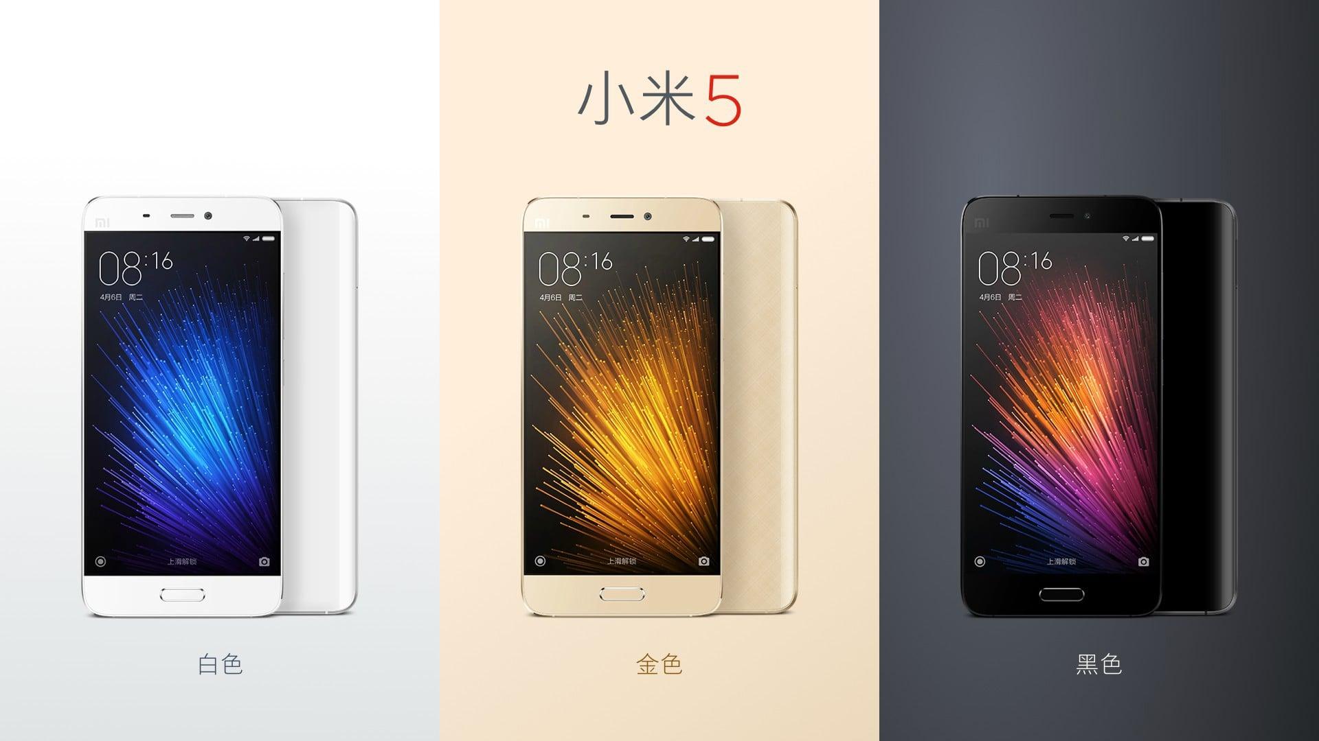 Tabletowo.pl Xiaomi w przyszłym miesiącu znacznie zwiększy produkcję Mi 5 Android Smartfony Xiaomi
