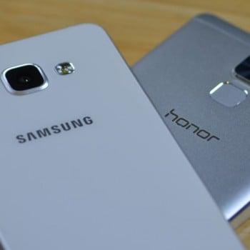 Tabletowo.pl Porównanie: Samsung Galaxy A5 2016 czy Honor 7? Android Huawei Porównania Recenzje Samsung Smartfony