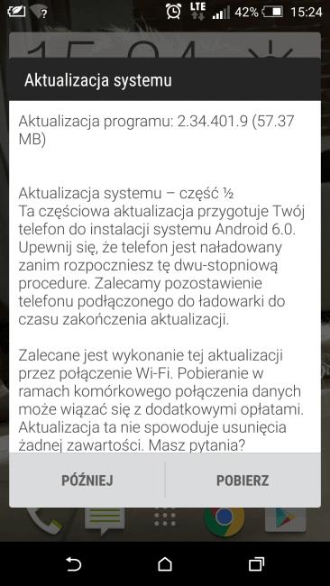 Tabletowo.pl HTC nie zwalnia tempa i aktualizuje kolejny smartfon - tym razem One E8 do Androida 6.0.1 Aktualizacje Android GSM HTC Nowości W skrócie