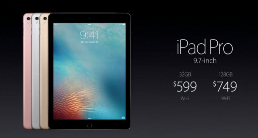 Tabletowo.pl Oto 9,7-calowy iPad Pro Apple iOS Nowości Tablety