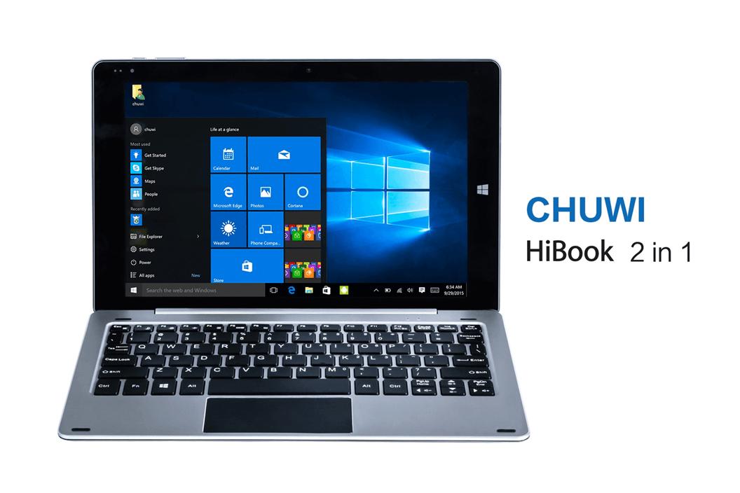 Nowa hybryda od Chuwi z Dual Boot, HiBook, już w kwietniu 17