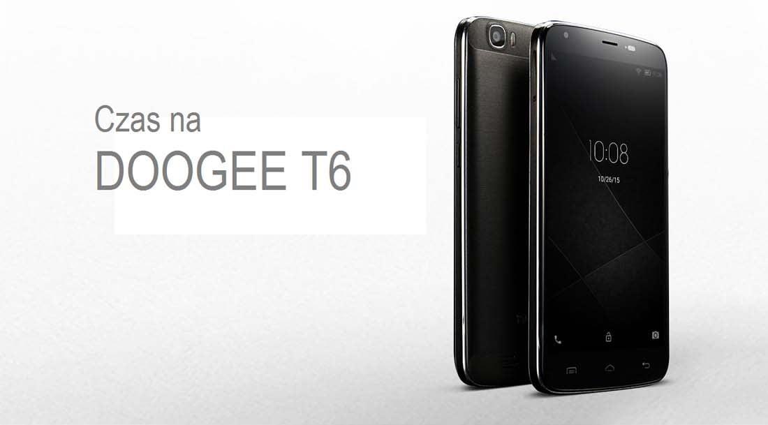 Tabletowo.pl Doogee T6 trafia do sprzedaży w Polsce Android Chińskie Smartfony