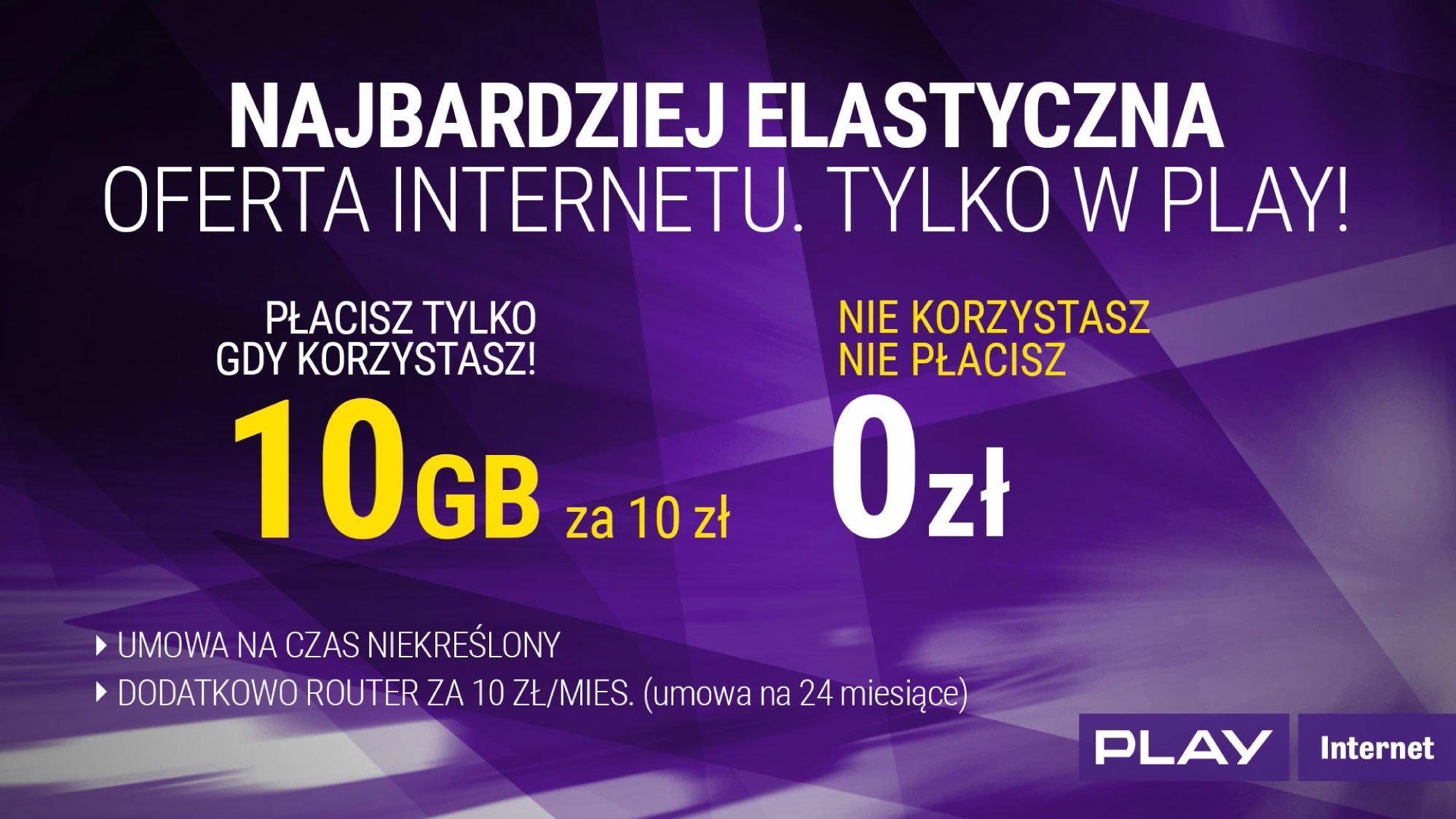 Play 10 GB za 10 zł 2