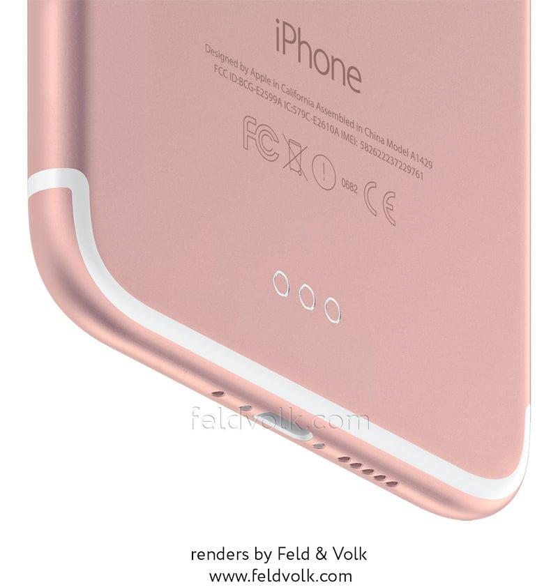 iPhone 7 iPhone 7 Plus iPhone 7 Pro render 2
