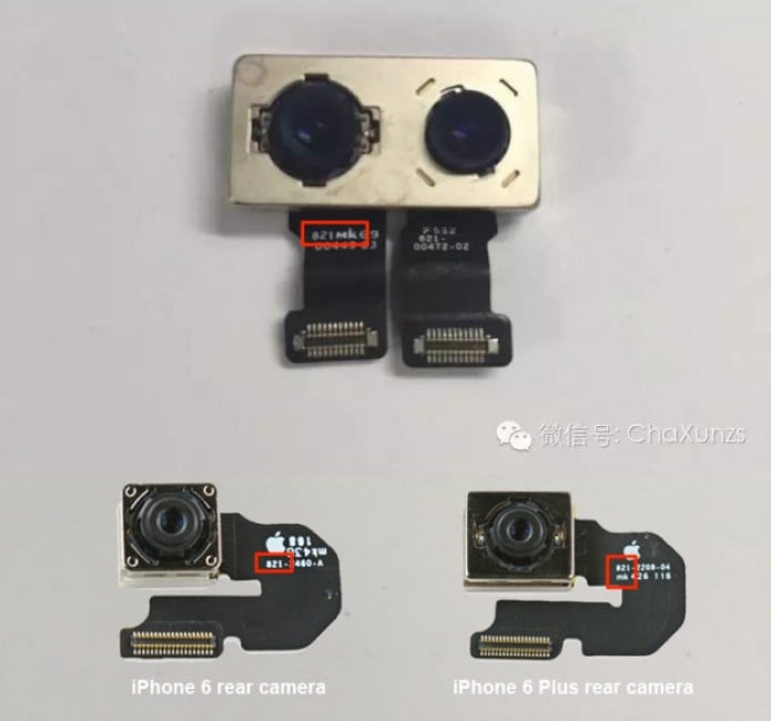 Podwójna kamera w iPhone 7
