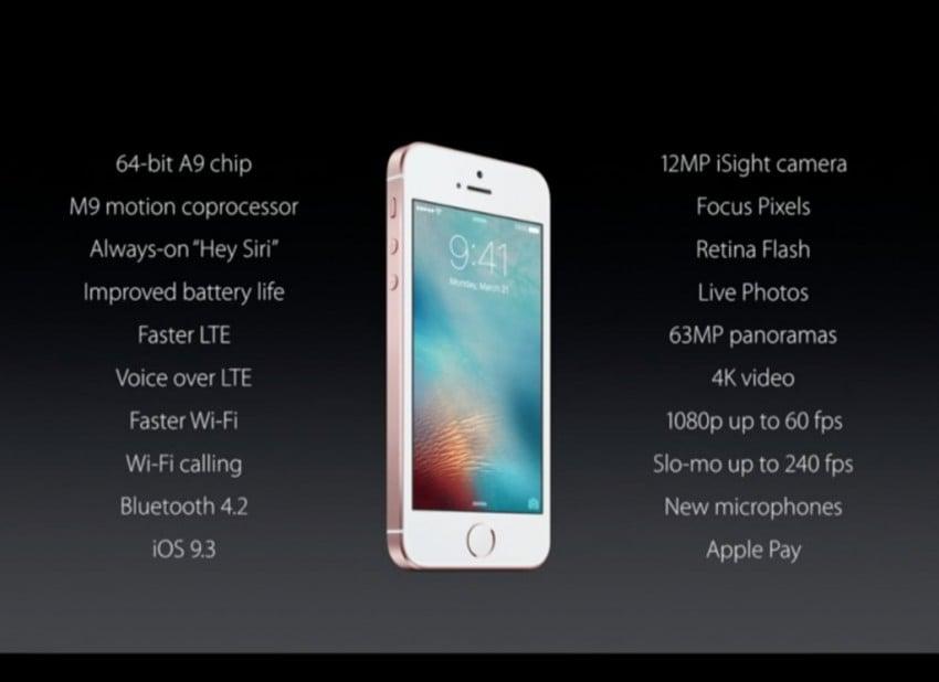 Tabletowo.pl iPhone SE powróci w marcu z pamięcią wewnętrzną zwiększoną do 128 GB? Apple Plotki / Przecieki Smartfony