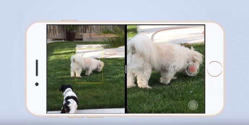 Podwójna kamera iPhone 7.