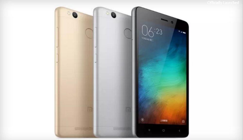Tabletowo.pl Xiaomi Redmi 3 Pro z czytnikiem linii papilarnych i akumulatorem, jednak, 4100 mAh Android Chińskie Smartfony Xiaomi