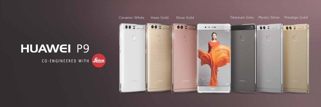 Huawei szacuje, że sprzeda 10 milionów egzemplarzy P9 i P9 Plus 28