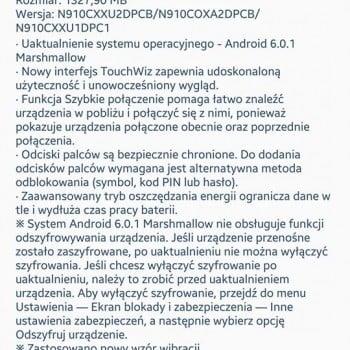 Tabletowo.pl Posiadacze Galaxy Note 4 w Polsce otrzymują aktualizację do Androida 6.0.1 Marshmallow! Aktualizacje Android Samsung Smartfony