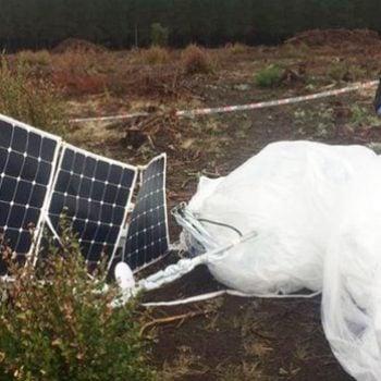 Jeden z balonów Google Loon rozbił się w Chile 17