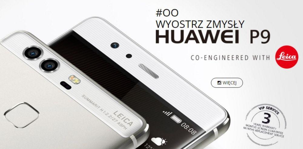 Huawei P9 - ceny i dostępność w Polsce. P9 Plus dopiero w maju 20