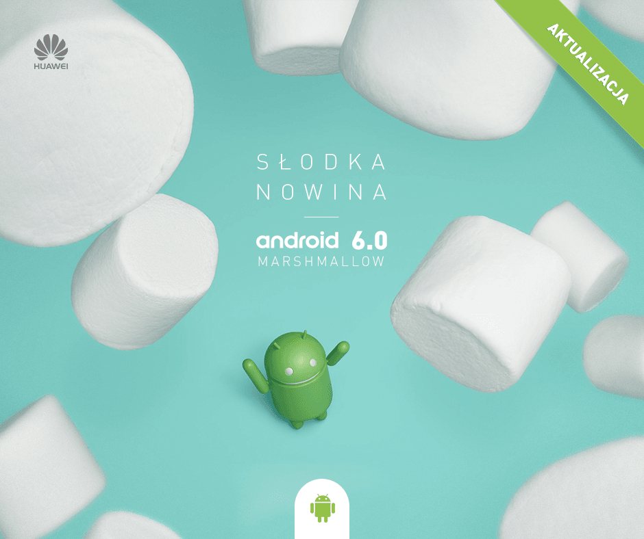 Android 6.0 Marshmallow Huawei P8 Lite