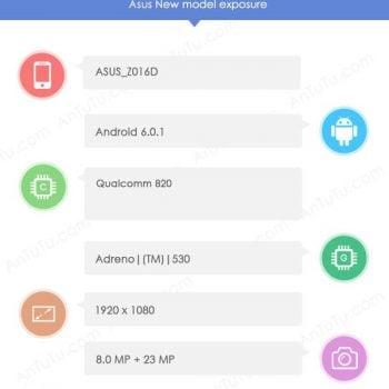 Asus Zenfone 3 AnTuTu