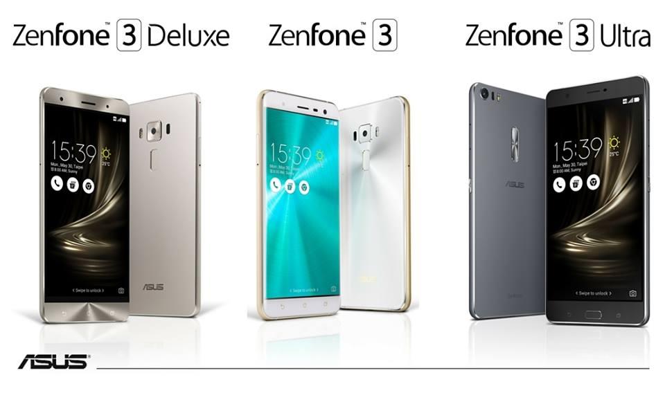 Tabletowo.pl Asus Zenfone 3, Zenfone 3 Deluxe i Zenfone 3 Ultra trafią na rynek 12 lipca Android Asus Smartfony