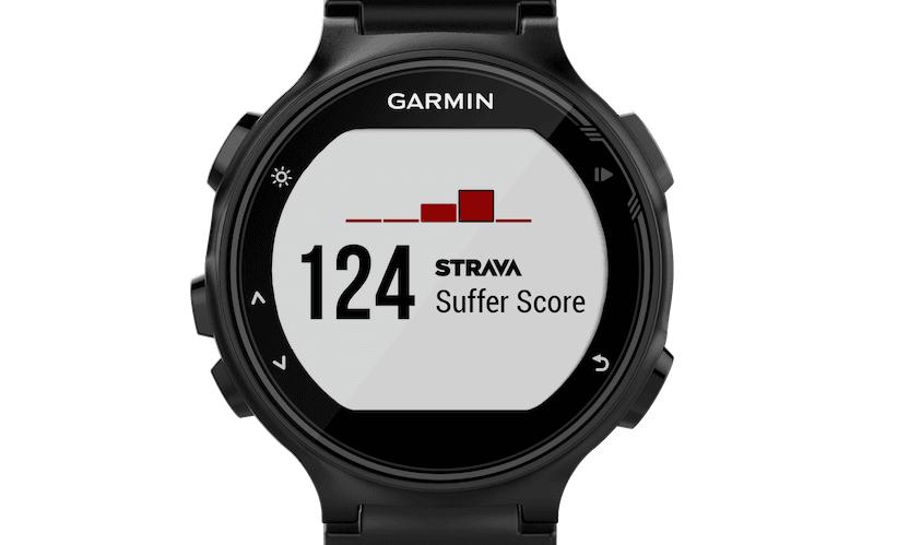 Garmin Forerunner 735XT Strava Live Suffer Score
