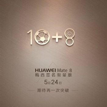 Leo Messi Huawei Mate 8