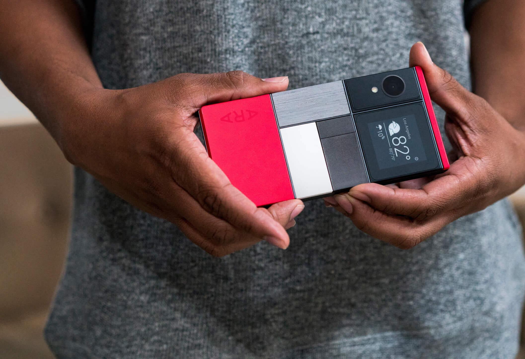Coś się ruszyło w sprawie Google Ara - modularny smartfon kupisz już w przyszłym roku 29