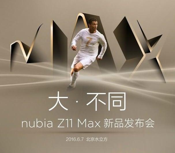 Nubia Z11 Max Cristiano Ronaldo