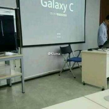 Samsung Galaxy C5 Samsung Galaxy C7 prezentacja