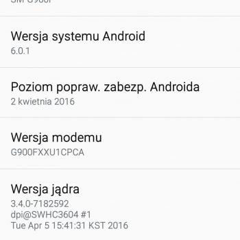 Samsung Galaxy S5 Android 6.0.1 Marshmallow 3