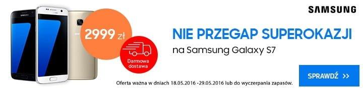 Samsung Galaxy S7 promocja Sferis