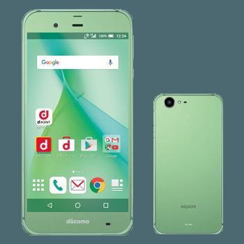 Sharp Aquos Zeta SH-04H green zielony