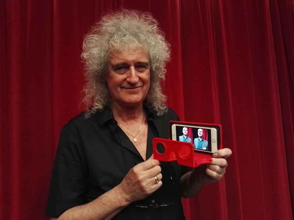 Tabletowo.pl Gitarzysta Queen stworzył konkurencję dla Google Cardboard Ciekawostki Nowości Wearable