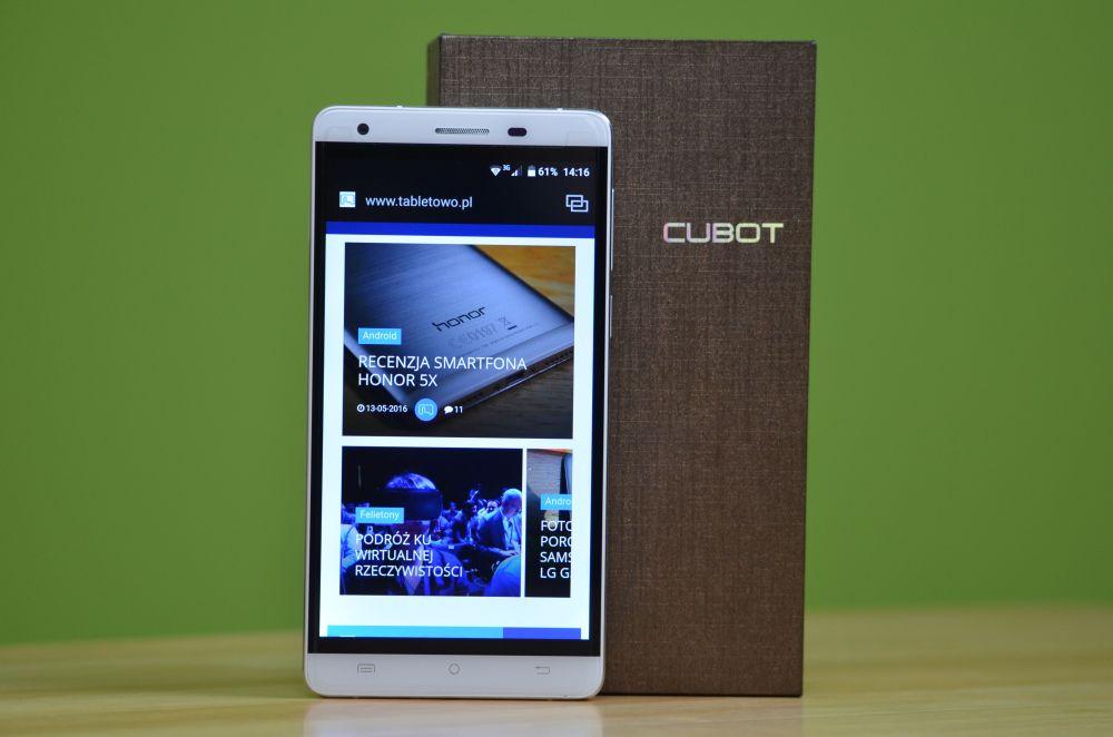 Recenzja zaskakująco dobrego taniego smartfona z 3GB RAM - Cubot H2 19