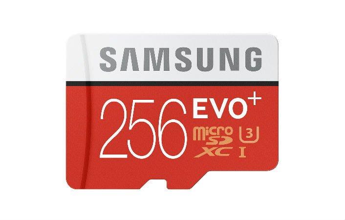 Samsung prezentuje kartę microSD Evo Plus High-Speed o pojemności 256GB 28