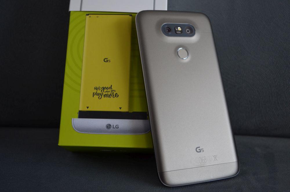 Tabletowo.pl LG G6 - będzie wymienna bateria, skaner tęczówki oka i LG Pay LG Plotki / Przecieki Smartfony