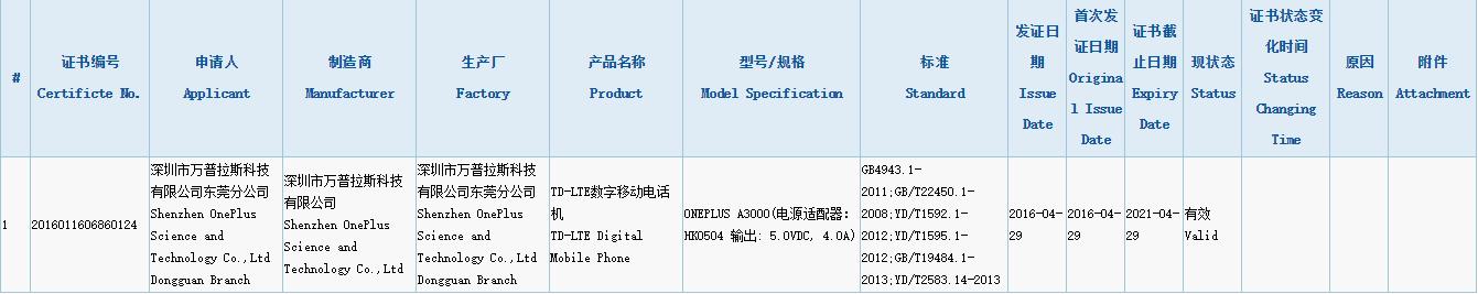 oneplus-3-3c-certification