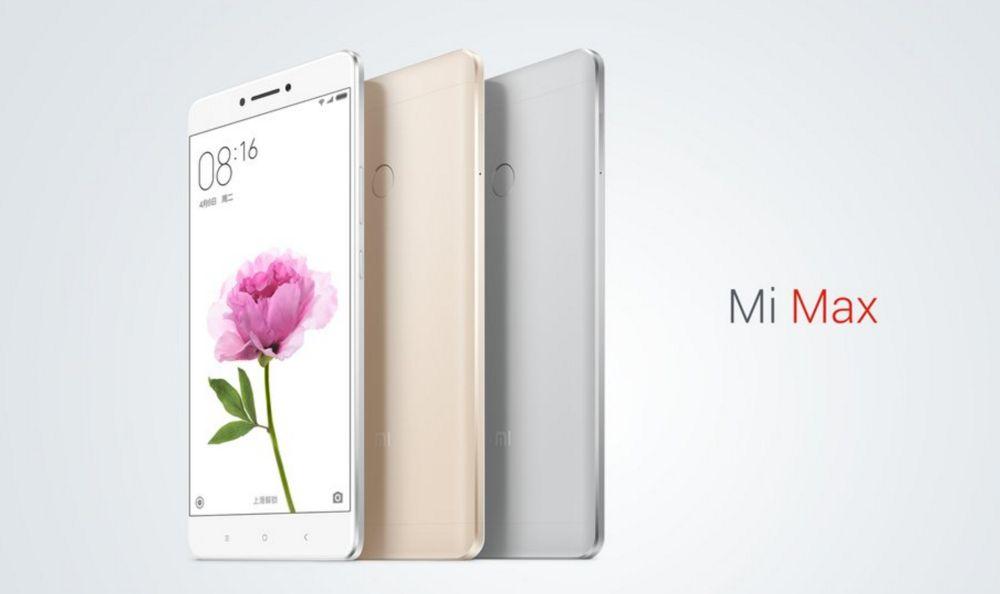 Xiaomi Max z 2 GB RAM i 16 GB pamięci wewnętrznej pojawił się w sprzedaży 19