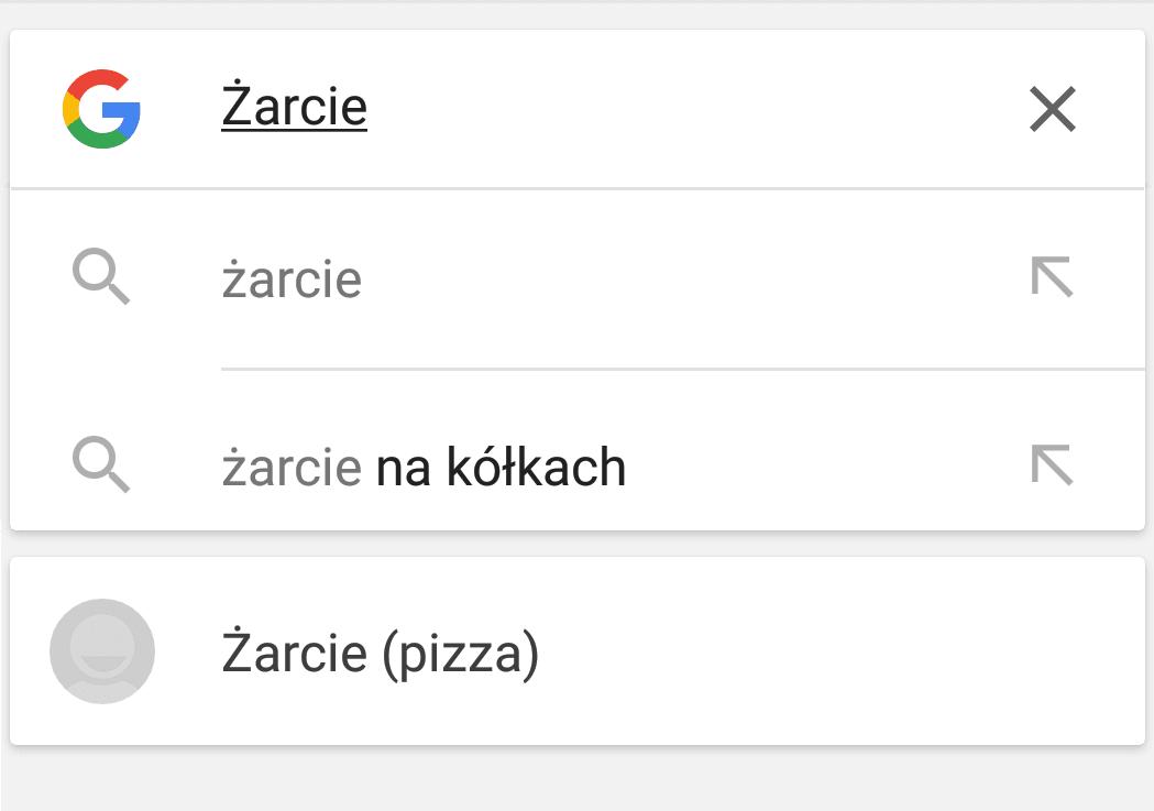 Tabletowo.pl Kontakty w wyszukiwarce - Google testuje nowe funkcje na Androidzie Android Google Smartfony